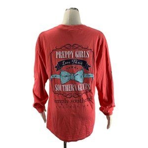 Simply Southern Large Shirt Preppy Girls Love Thei